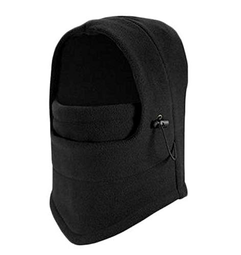 JLWDD Heren Winter Warm Fleece Balaclava Thermische Motorfiets Ski Hoed Full Neck Gezichtsmasker