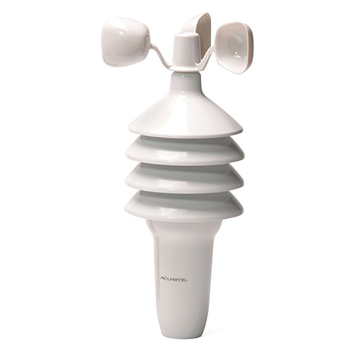 AcuRite Notos 3N1TXC (3-in-1) Wireless Weather Sensor with Wind Speed, Temperature and Humidity