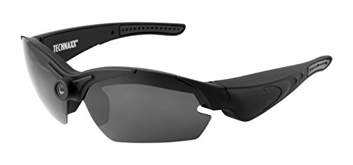 Technaxx TX-25 video sport zonnebril (Full HD, 1080P), transparant