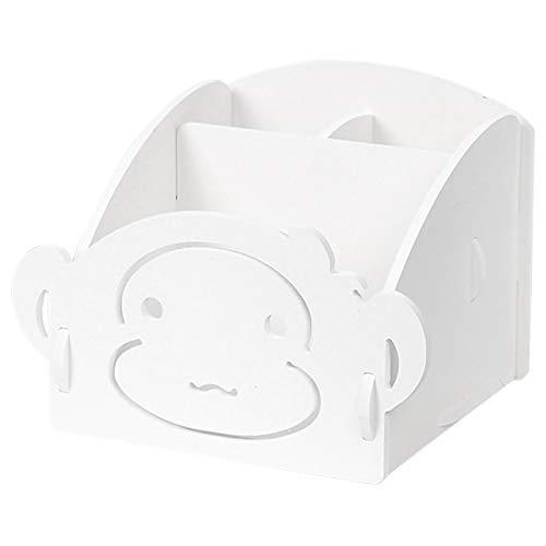 Preisvergleich Produktbild Noblik Montage Desktop Büro Organizers Aufbewahrungs Box Bade Zimmer Holz Regal Kabel Lagerung Make-Up Halter Wohn Kultur