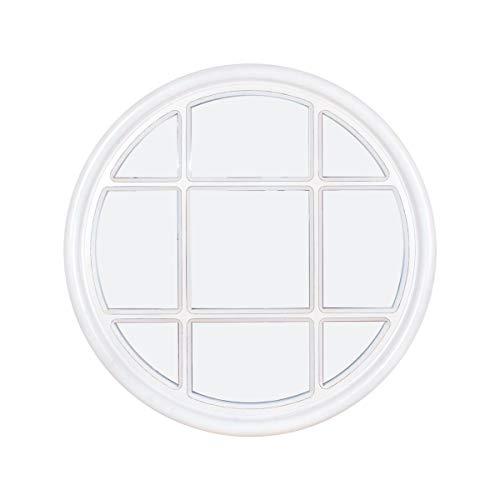 CAPRILO. Cuadro-Espejo Decorativo de Madera y Cristal Ventan