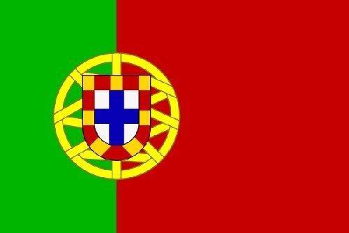 Portugal Fahne 90 x 150 cm - Flagge - EM 2012 - Portugiesische Fahne