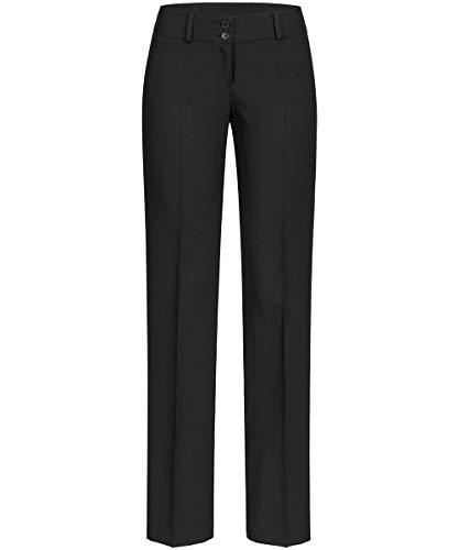 GREIFF Damen-Hose Anzug-Hose, Farbe: Schwarz, Gr: 42