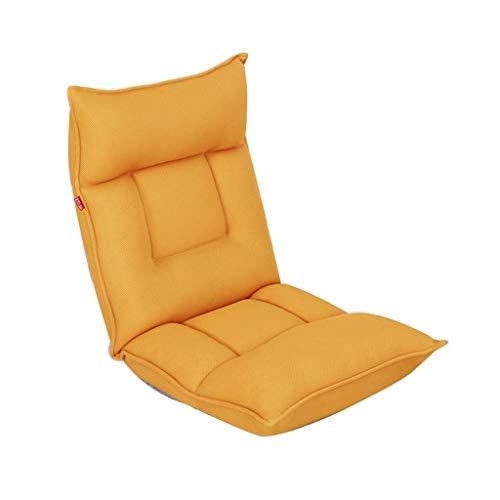 RANRANJJ Silla de sofá para Juegos de Piso Ajustable acojinada Plegable reclinable Perezoso (Color