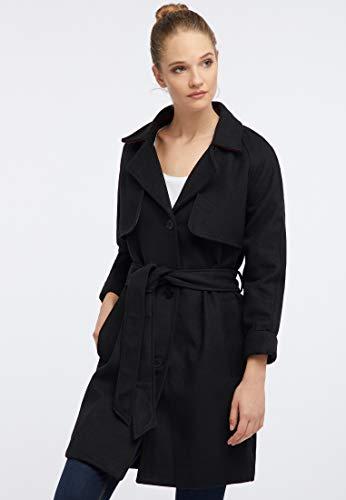 usha Mantel Damen 10301528 schwarz, M