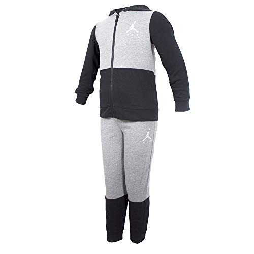 Jordan Jumpman Air Trainingsanzug für Kinder, grau, Code 858507-GEH, Grau 4-5 Jahre