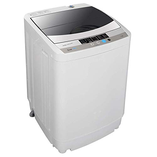 HomGarden Full-Automatic Washing Machine Portable Compact 10 lbs Top Load Multifunctional Laundry...