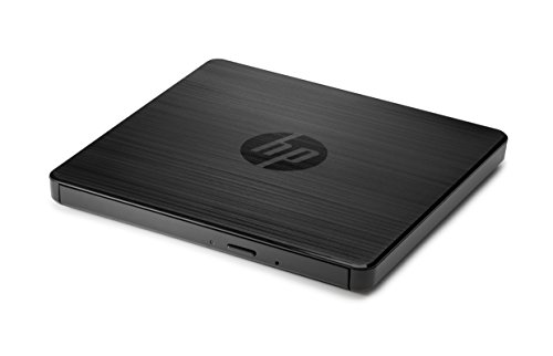 HP External USB DVDRW Drive - optical disc drives (Notebook, DVD±RW, Black, USB 2.0)