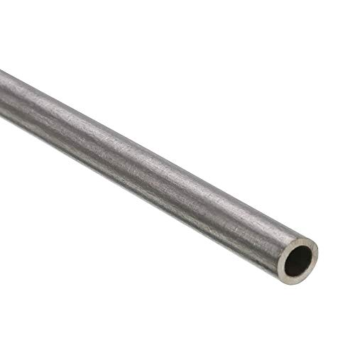 HPS AST-2F-100 6061 T6 Seamless Aluminum Round Straight Tubing 1 OD 0.065 Wall Thickness 2 Length 16 Gauge