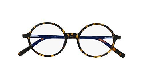 Silac - Screen Turtle 7601 - Gafas Anti Luz Azul - Unisex - Pantalla de Ordenador y Teléfono - Anti Fatiga Ocular - Anti Dolor de Cabeza - Ligeras y Resistente - Sin Dioptrías - Carey Retro