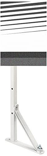 39210 - Barra tendedero pared reforzada blanco