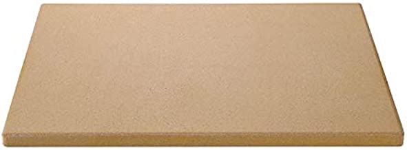 Unicook Heavy Duty Ceramic Pizza Grilling Stone, Baking Stone, Pizza Pan, Perfect for Oven, BBQ and Grill, Thermal Shock Resistant, 15x12 Inch Rectangular, 6.6Lbs