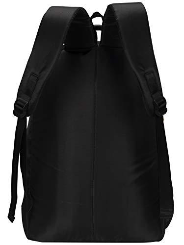COSMUS Duke 46 cm Laptop Backpack 29 Ltrs Large School Bag / Travel Backpack (BLACK & P.GREEN)