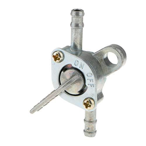GHDBHFD Plata de la válvula de Combustible for Torneado de Bicicletas de Bolsillo de Combustible de Encendido/Apagado Mini Chopper y Quad Piezas de Repuesto