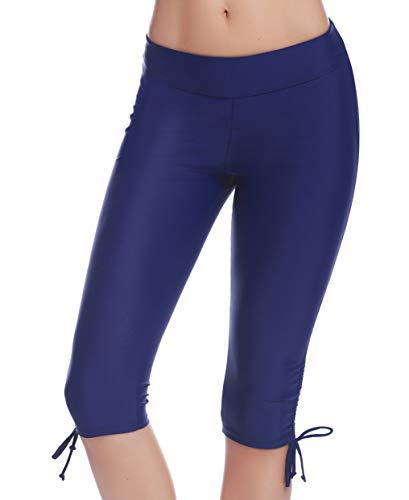 iClosam Leggings da Bagno Donna Protezione UV Pantaloni da Bagno Leggings Nuoto per Sport Acquatici da Donna