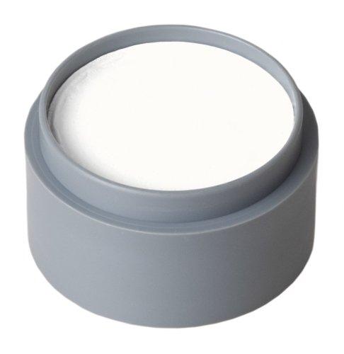 PARTY DISCOUNT Grimas Water-Make-up Pure 15 ml, Weiß, 001, Aqua-Schminke für Kinder und Profis