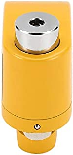 Universal Durable Alloy Motorcycle Alarm Disc Lock Anti-Theft Alarm Wheel Disc Brake Security Safety Siren Lock for Motorbike Yellow