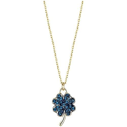 WYZQ Joyería Mujer Collar de Cadena Corta Collar de Mujer Collar Colgante Joyería de Mujer Decoración Regalos para su Esposa Declaración, joyería