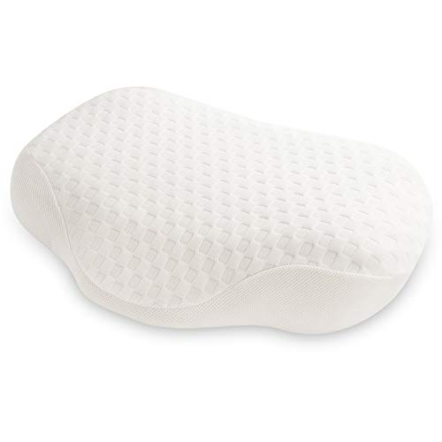 Memory Foam Pillow Orthopedic Pillow, Beauty Contour Pillow Cervical Pillow for Neck Pain, Anti-Snore Pillow for Side, Back, and Stomach Sleepers Washable Pillow Cover