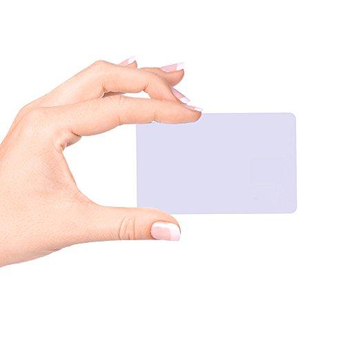 Fongwah NXP Ntag 213 Chip RFID NFC Carta compatibili con tutti gli Samsung|Android|nokia|Sony,13.56 MHz (20 pezzi)