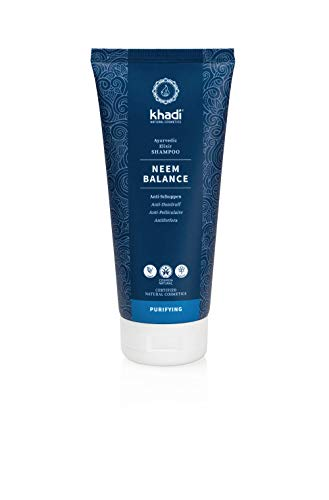 khadi Naturkosmetik Ayurvedisches Elixier Shampoo Neem Balance 200ml
