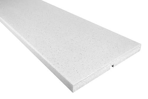 2 Meter | Fassade | Außenstuck |Leiste | EPS | PU |gerade |25x250mm | MC146