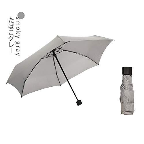 Paraguas Mini bolsillo 5-paraguas plegable portátil Lluvia Paraguas pequeño teñidos hilado impermeable...