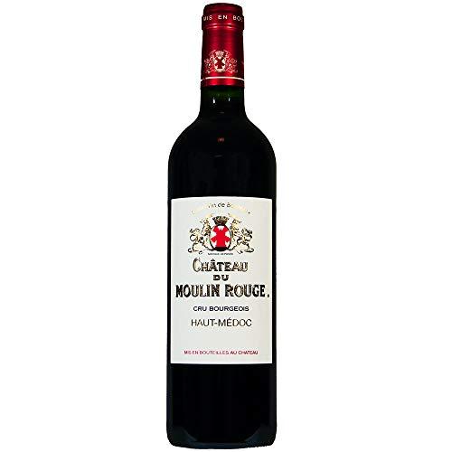 Château du Moulin Rouge 2016 Bordeaux Haut-Médoc Rotwein trocken (1 x 0,75l)
