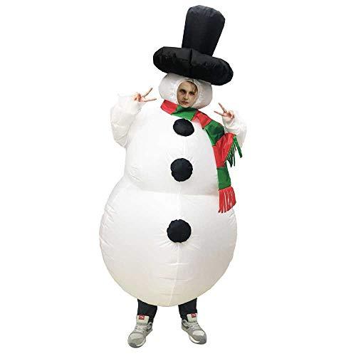 zhuao cartoon kerstboom opblaasbare pak, creatieve pop partij kostuum, vakantie rol spelen kostuum