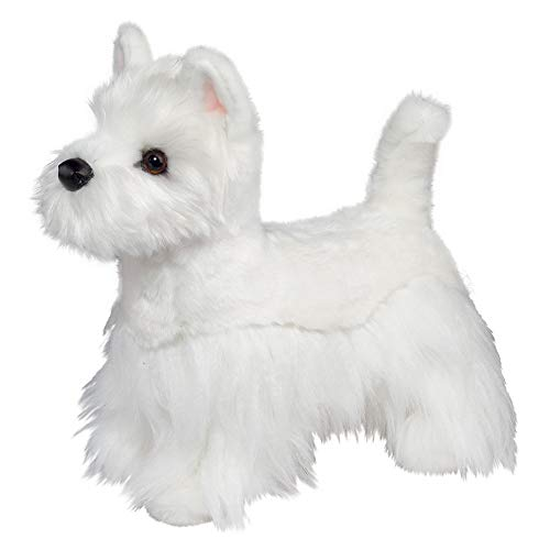 Douglas Romeo West Highland White Terrier Westie Dog Plush Stuffed Animal -  2046