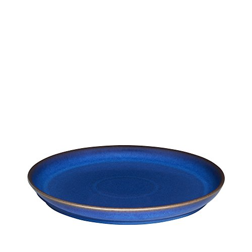Denby Imperial Blue Coupe Dinner Plate, Royal Blue