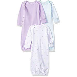 Amazon Essentials – Pack de 3 sacos de dormir de bebé para niña