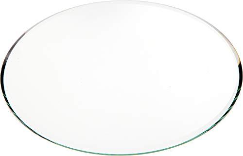 Plymor Round 3mm Beveled Glass Mirror, 6 inch x 6 inch