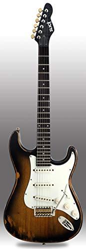 Slick Guitars SL57 Sunburst (SB) E-Gitarre