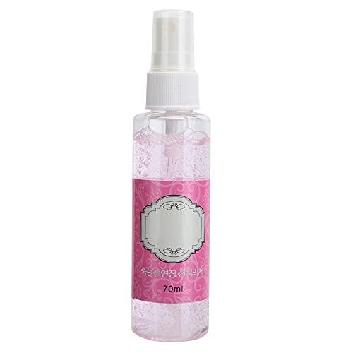 Limpiador de extensión de pestañas, 70 ml Limpiador de pestañas con fragancia de rosas Limpiador en espuma para párpados Injerto Seguro Cómodo para uso diario para eliminar grasa y polvo
