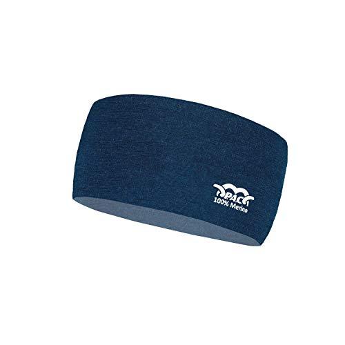 P.A.C. Merino Headband - Funktionsstirnband, Schweißband, Outdoortuch, nahtloses Stirnband, Sport Headband, Ohrenschutz, verschiedenste Designs, Unisex,