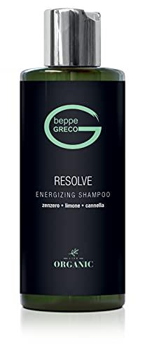 Beppe Greco - Shampoo Professionale RESOLVE Shampoo anticaduta rinforzante capelli 250ml