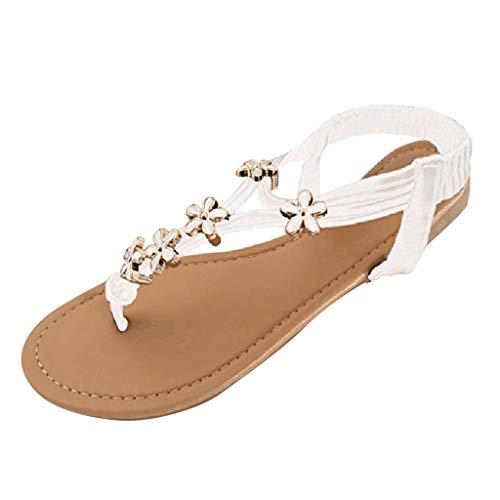 FRAUIT dames platte sandalen met metalen gesp zomer flip flop enkelriem platte vrijetijdsschoenen open tenen