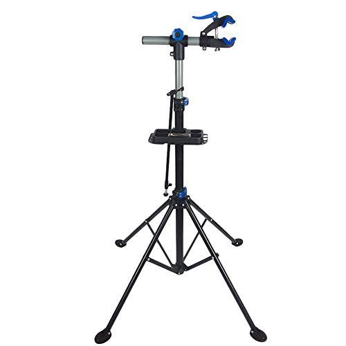 NANANA Fahrradmontageständer Expert, Fahrradmontageständer Fahrrad Reparaturständer Montageständer Fahrradständer mit Werkzeugablage Höhenverstellbar, Höhenverstellbar 1.2~1.9m,Blueb,Normalversion