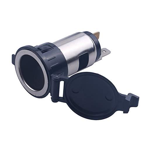 N\A Auto Feuerzeug Ladegerät Motorrad Power Steckeradapter Sockel Autozubehör Auto 12V Zigarettenanzünder Outlet für Auto Truck Universal