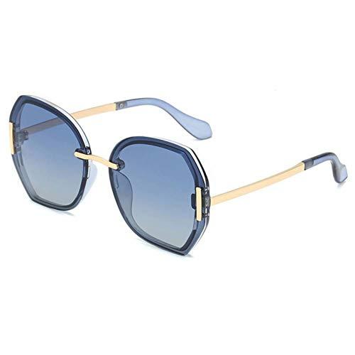 CHJKMN Occhiali da sole polarizzati Fashion Trend Occhiali da sole strabici Occhiali da sole da donna multicolor sfumati Occhiali da sole Plaza