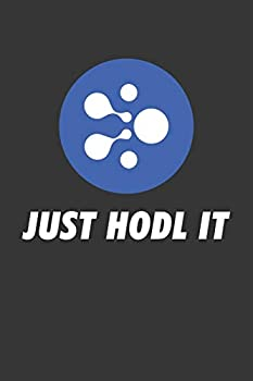 Just Hodl It Aelf Elf Notebook  Lined Journal 120 Pages 6 x 9 Affordable Cryptocurrency Blockchain Crypto Gift Journal Matte Finish