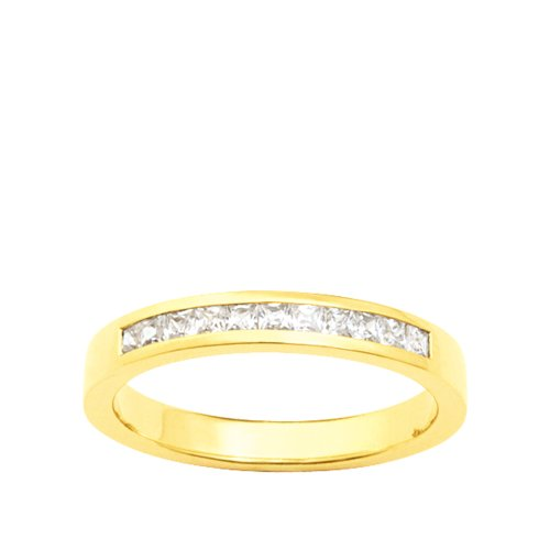 Bijoux pour tous - Alianza de oro amarillo de 18 quilates