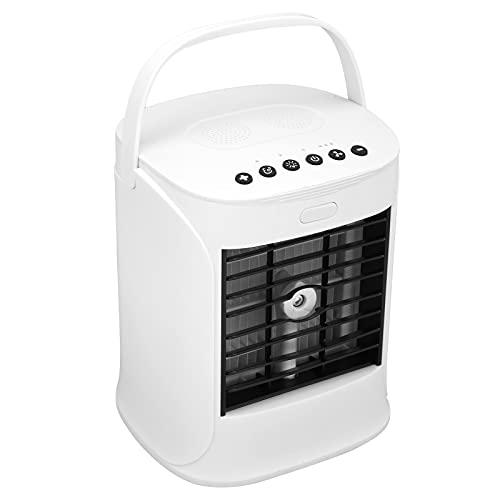 SONK Mini condizionatore d'Aria, Piccolo condizionatore d'Aria Portatile Portatile 7 luci a Colori per Esterni per Interni