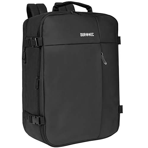 Duronic Cabin Bag LB326 | Max Cabin Size Case | Large Flight Approved Carry...