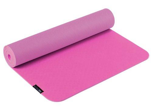Yogistar Yogamatte Pro - sehr rutschfest - Pink