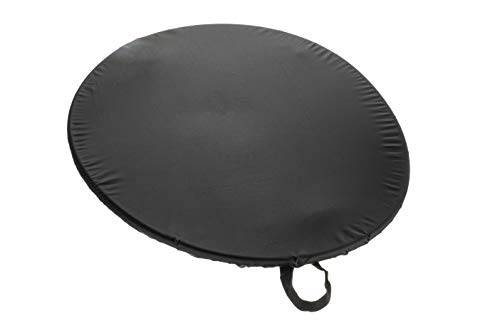 attwood 11775-5 Universal Kayak Cockpit Cover with Clips - Black Nylon, One Size
