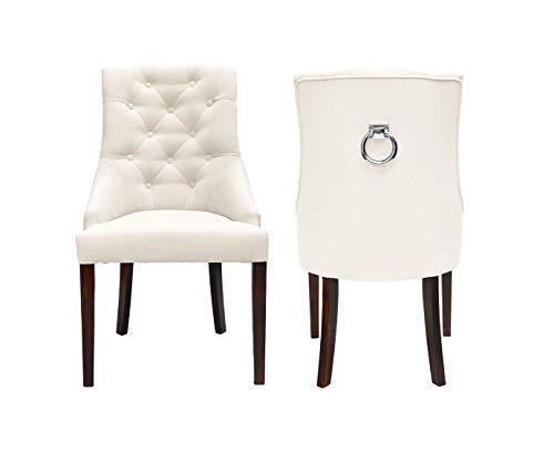 Belle Fierté Chesterfield-Sessel aus Samt, mit Metallsockel, handgefertigt, aus Stoff, leicht zu reinigen, Beige