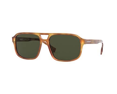 BURBERRY Gafas de sol BE4320 FRANCIS 389371 Gafas de hombre color Havana lente verde talla 58 mm