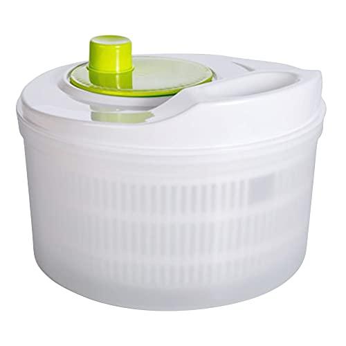 Huixindd Creativo Secador de Verduras Drenador Fruta Multifunción Manual Ensalada Spinner Spinner Bowl Plastic Deshidrator Gadgets
